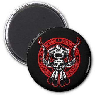 Rolling Bonez II 6 Cm Round Magnet