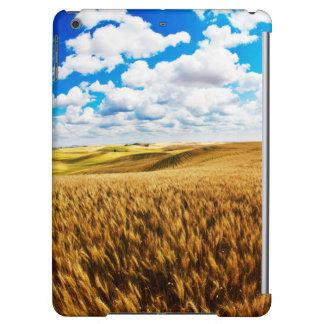 Rolling hills of ripe wheat