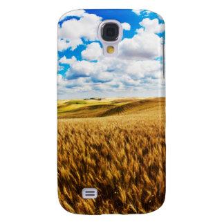 Rolling hills of ripe wheat galaxy s4 case