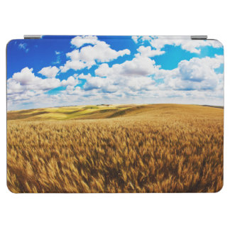 Rolling hills of ripe wheat iPad air cover