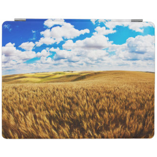 Rolling hills of ripe wheat iPad cover