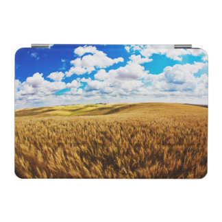 Rolling hills of ripe wheat iPad mini cover
