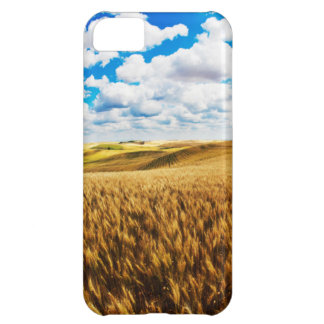 Rolling hills of ripe wheat iPhone 5C case