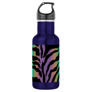 Rolling in Rainbows ~ Psychedelic Tiger Skins 532 Ml Water Bottle