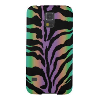 Rolling in Rainbows ~ Psychedelic Tiger Skins Galaxy S5 Cases