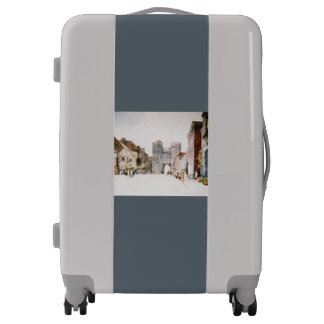 Rolling luggage with Canterbury Tower Gate image