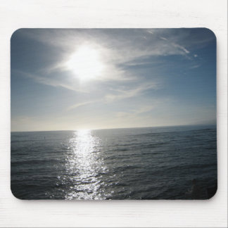 Rolling Ocean Mouse Pad