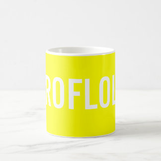 Rolling on the Floor Laughing Out Loud Basic White Mug