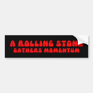Rolling Stone Bumper Sticker