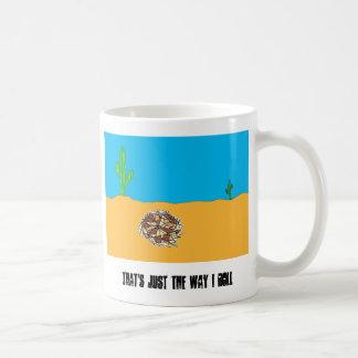 Rolling Tumbleweed Basic White Mug