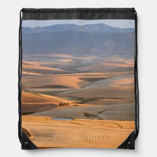 Rolling Wheat Fields. Caledon, Overberg Drawstring Bag