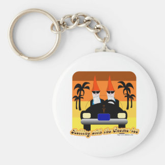 Rolling with the Gnom-ies Key Chains