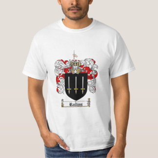 Rollins Family Crest - Rollins Coat of Arms Tees