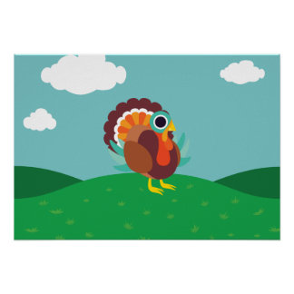 Rollo the Turkey Poster