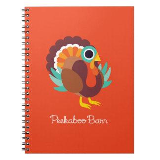 Rollo the Turkey Spiral Notebook