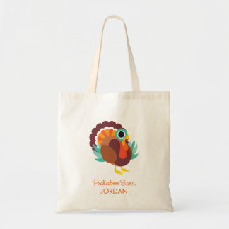 Rollo the Turkey Tote Bag