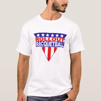 ROLLOUT Gladiator Racquetball Tee Shirt