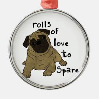 Rolls of Love to Spare. Christmas Ornament