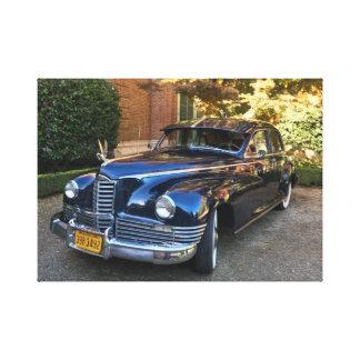 Rolls Royce Classic Car Canvas Print