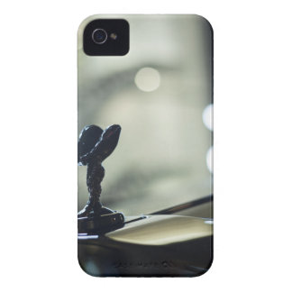 Rolls Royce luxury to car AT night in street photo iPhone 4 Case