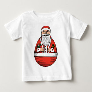 Rolly Polly Santa Toy Infant T-shirts