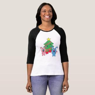 Rollys Christmas Day - Women's Raglan 3/4 Sleeve T-Shirt