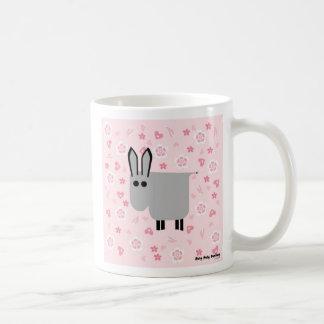 Roly Poly Donkey Basic White Mug