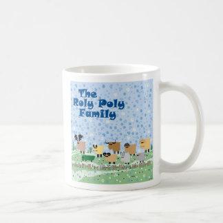 Roly Poly Family Basic White Mug