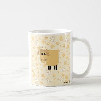 Roly Poly Lion Basic White Mug