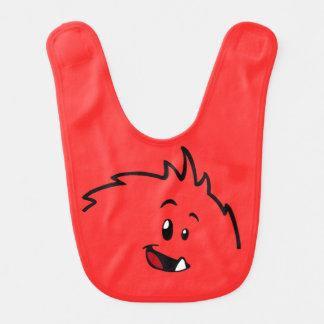 Roly-Poly Monster Baby Bib (Face Version)
