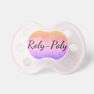 Roly-poly Pastel Pink Dummy