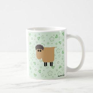 Roly Poly sheep Basic White Mug