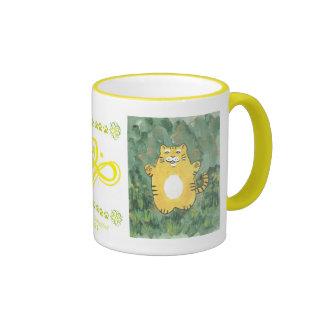 Roly Poly Tiger Coffee Mug