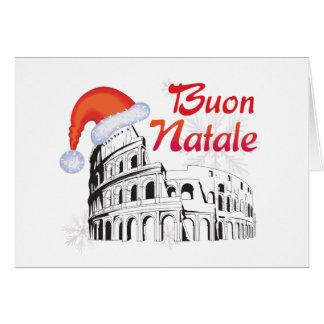 Roma Buon Natale Card
