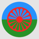 Roma, India Round Sticker