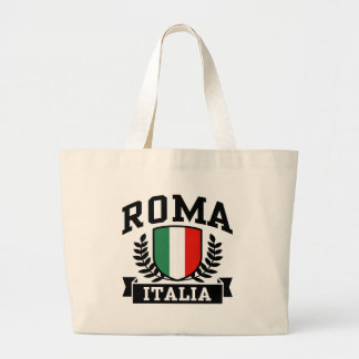 Roma Italia Large Tote Bag