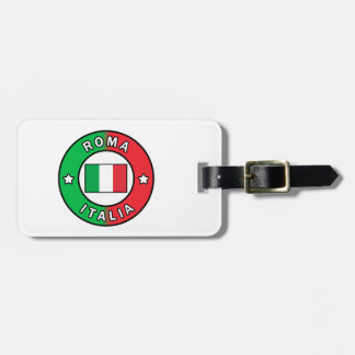 Roma Italia Luggage Tag