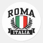 Roma Italia Round Sticker