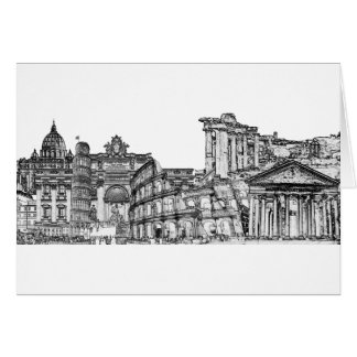 Roma, Rome... travel souvenir gifts Card