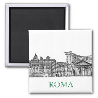 Roma, Rome... travel souvenir gifts Magnet