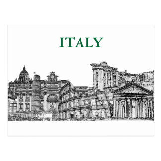 Roma, Rome... travel souvenir gifts Postcard