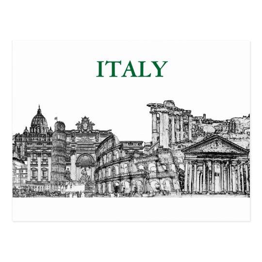 Roma, Rome... travel souvenir gifts Postcard