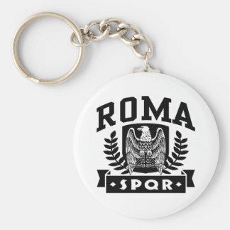 Roma SPQR Basic Round Button Key Ring