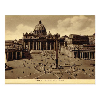 Roma, Vatican, St Peter's Square Postcard