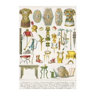 Roman Accessories Canvas Print