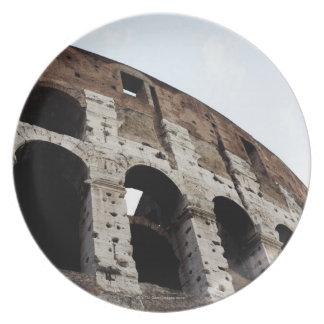 Roman amphitheatre party plate