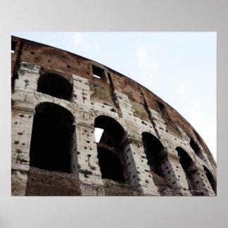Roman amphitheatre poster
