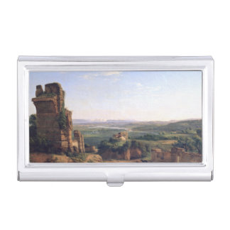 Roman Aqueducts Business Card Holder