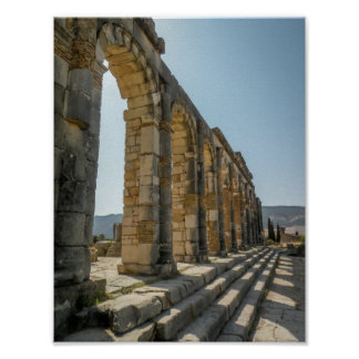 Roman Arches of Volubilis - Poster