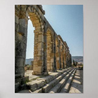 Roman Arches of Volubilis - Poster